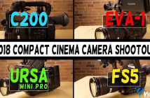 Compact Cine Cams Comparison