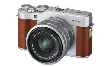 Fujifilm X-A5 Brown Colour