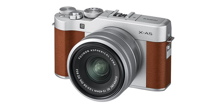 Fujifilm X-A5 Brown Colour