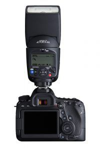 Canon 470EX-AI Flash with Canon 6D Mark II