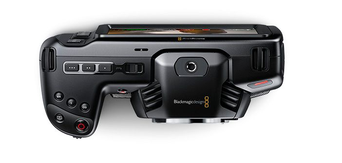 Blackmagic Pocket Cinema Camera 4K Top View