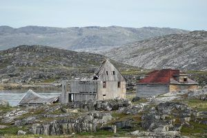 Roofless Barn - Hebron NFLD and Labrador - Photographer Peter Wall