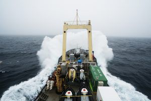 Smashing Ship - Davis Strait - Christopher Paetkau