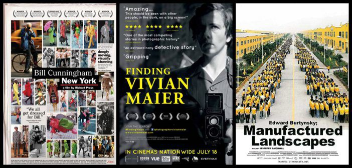 10 Photography Documentaries Movie Posters