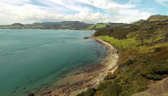 Overlooking bay near Omapara, North Island, New Zealand - Joe Beda