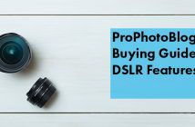 Vistek Buying Guides DSLR Features Cover