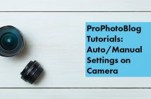 Vistek Tutorials - Auto or Manual Settings on Camera Cover