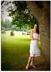 dof 3 -Girl Next to Tree - Mark Cleghorn