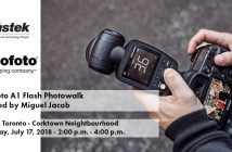 Profoto Toronto A1 Flash Photowalk Event Blog