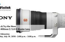 Sony Edmonton 400mm Lens Event Blog