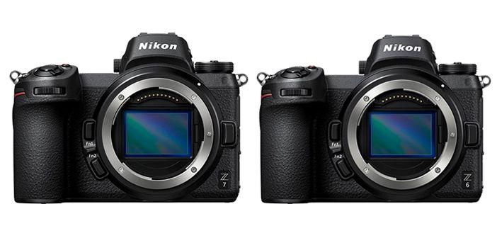 Nikon Z Series Z 7 and Z 6 Cameras
