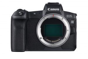 Hot Products - Canon EOS R Front with no lens