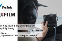 Fujifilm X-T3 Event