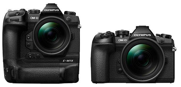 Olympus OM-D E-M1X vs. OM-D E-M1 Mark II