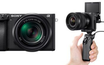 Sony a6400 touch and try event cover