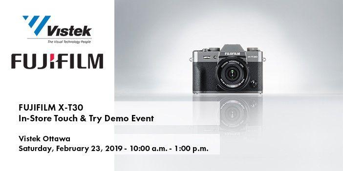 Fujifilm X-T30 Ottawa Event