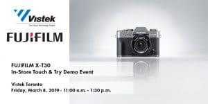 Fujifilm X-T30 Toronto Event