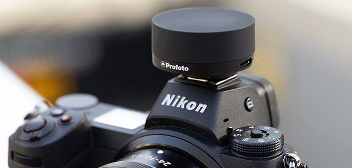 Profoto Connect on Nikon Camera