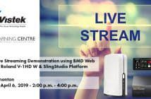 Live Streaming Seminar Information