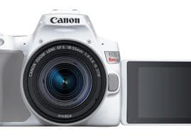 Canon EOS Rebel SL3 steps it up by adding 4K video