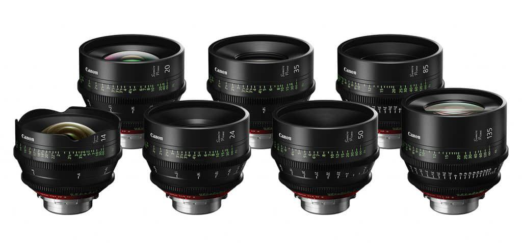 NAB 2019 - Canon Sumire Cinema Lenses