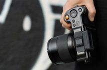 Hasselblad X1D II 50c camera in hand