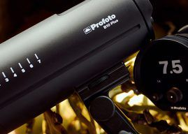 Profoto B10 Plus Strobe that Doubles the Power of the B10