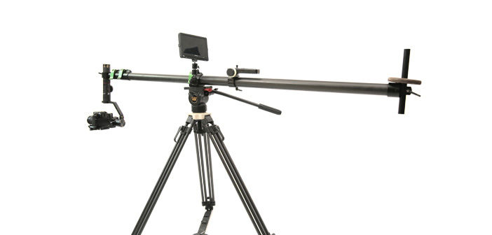 Teris JQ40 Jib arm on tirpod