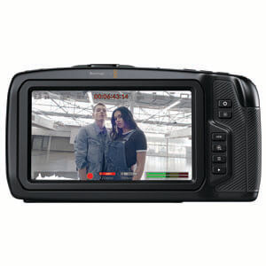 Blackmagic Design 6K Pocket Cine Camera Touchscreen