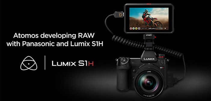 Atomos & Panasonic RAW over HDMI for S1H