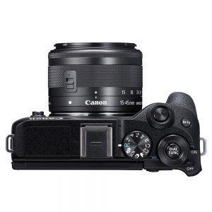 Canon EOS M6 Mark II Top View