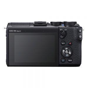 Canon EOS M6 Mark II Rear View