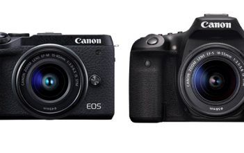 Canon EOS M6 Mark II and EOS 90D Cameras