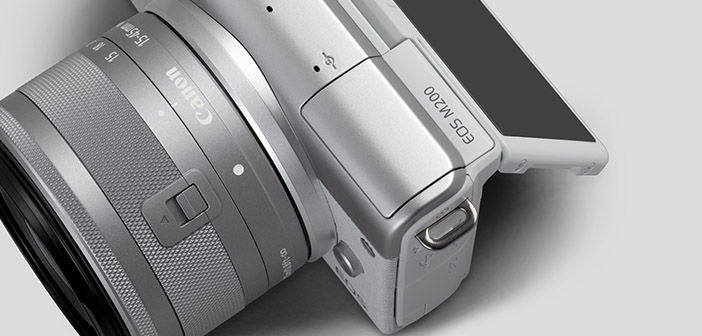 Canon EOS M200 Mirrorless Camera Cover