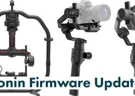 DJI Releases Firmware Updates for Ronin 2, Ronin-S & Ronin-SC