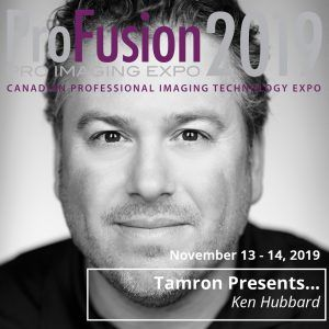 ProFusion Expo 2019 Presenter Ken Hubbard - Tamron