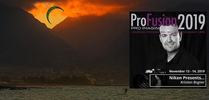 Kite Surfer shot by Kristian Bogner