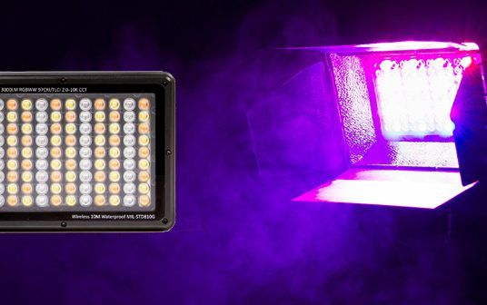 Litrastudio Rugged, Portable Waterproof RGBWW LED Light