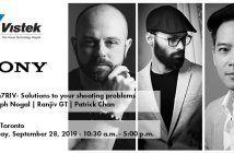 Sony a7riv event Toronto