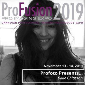 Profoto Booth Presenter - Billie Chiasson