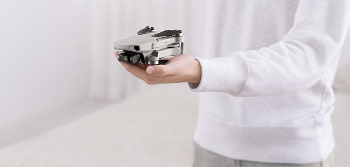 DJI Mavic Mini Drone in Hand