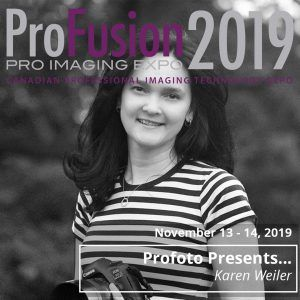 Profoto Booth Presenter - Karen Weiler