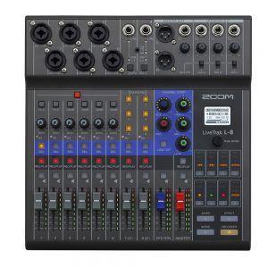 Zoom LiveTrak L-8 Controls