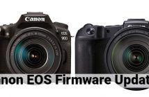 Canon EOS 90D and EOS RP Cameras