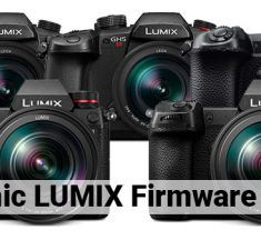 Firmware Updates for Panasonic LUMIX G9, S1/S1R & GH5/S Cameras