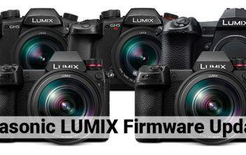 Panasonic LUMIX Firmware Updates Cover