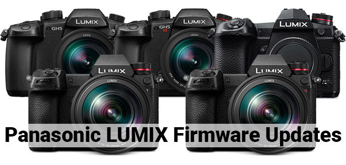 Panasonic LUMIX Firmware Updates Cover