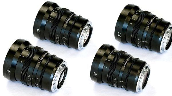 SLR Magic APO-MicroPrime EF Mount Cine Lenses Announced