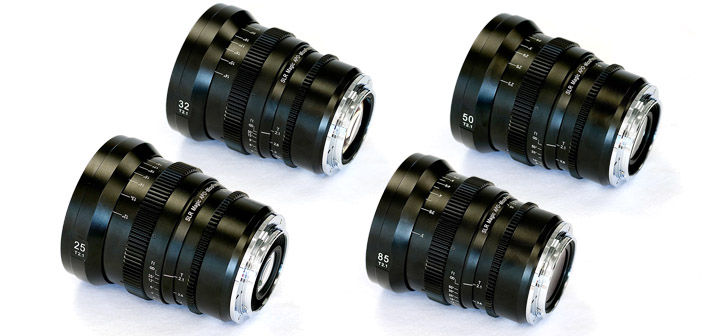 SLR Magic APO-MicroPrime EF Mount Lenses