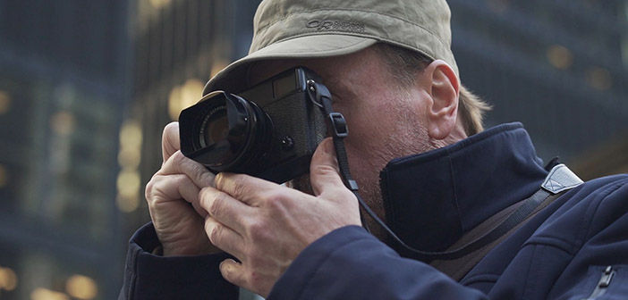 Fujifilm X-Pro3 in hands of Street Photographer Dave Bottoms